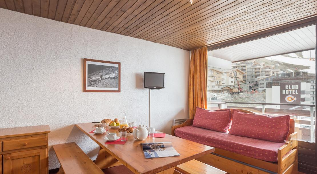 Living Room Le Schuss Val Thorens