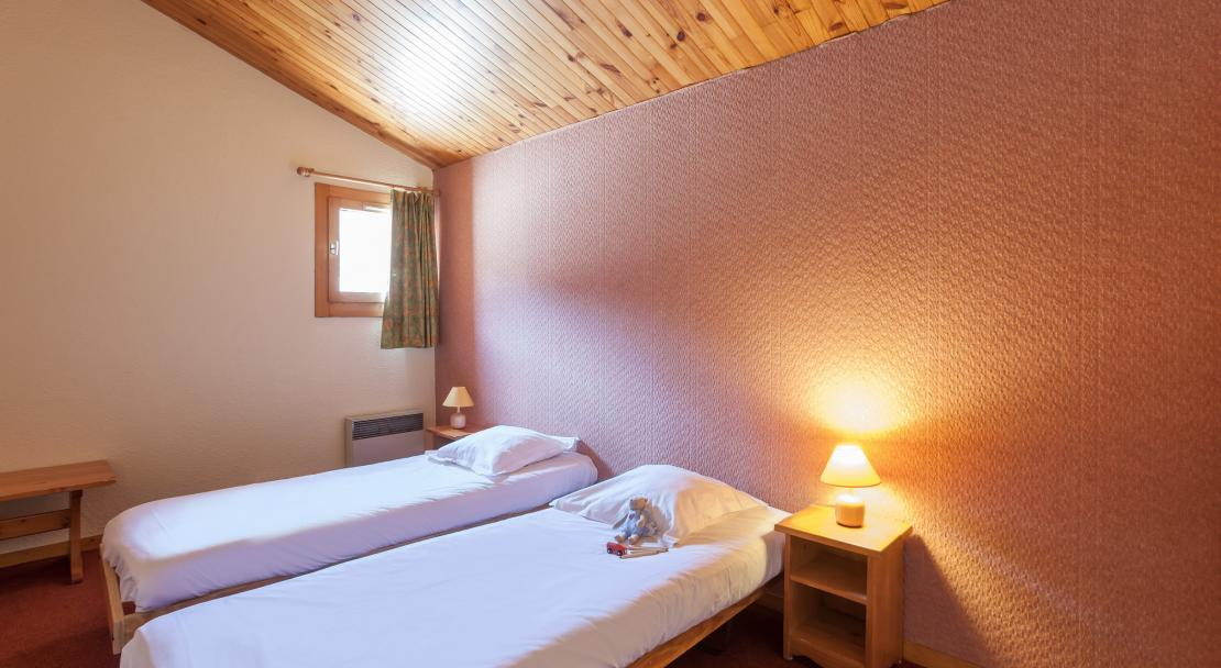 Twin Room Les Chaletes de Valmorel