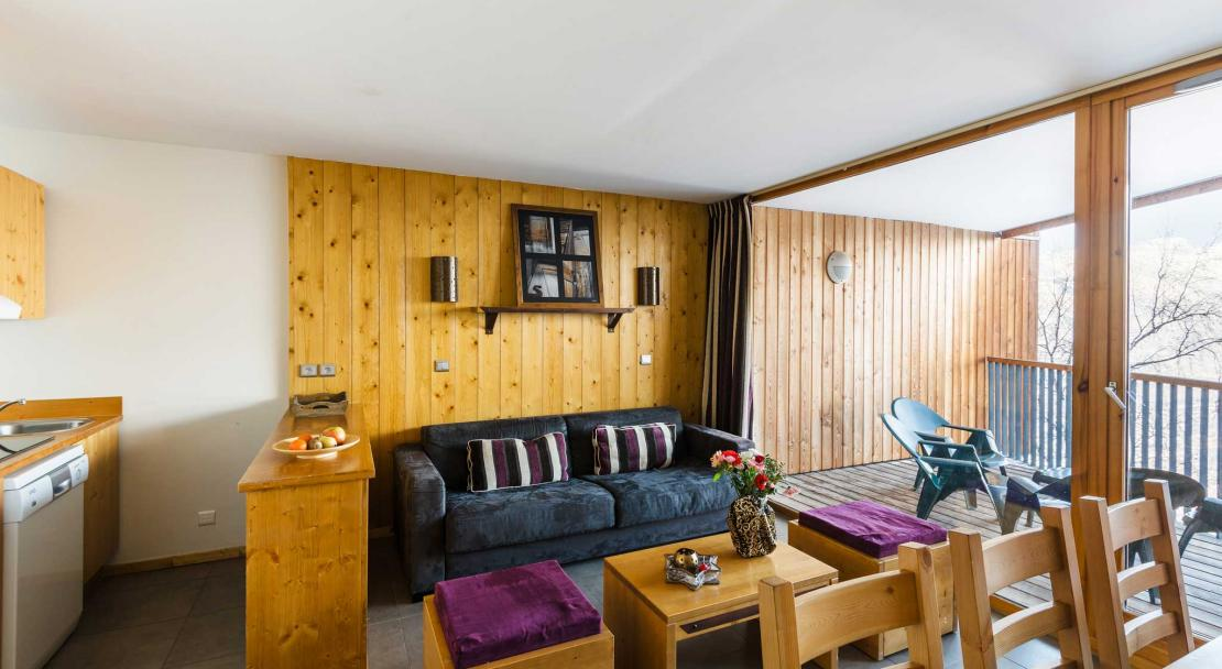Apartment in Les 3 Glaciers Montchavin