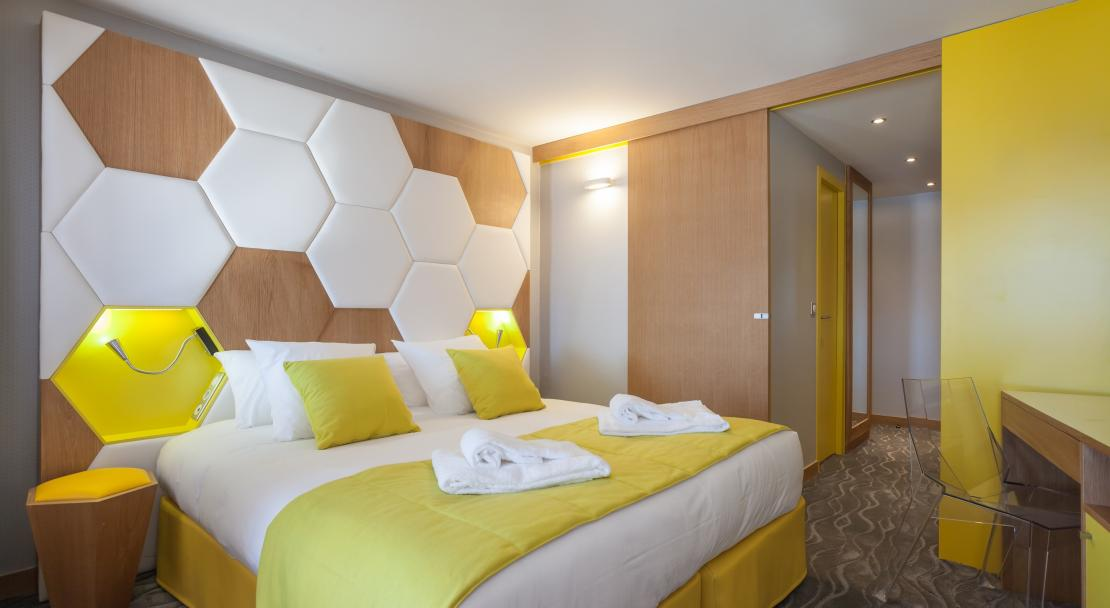 A family suite at Hotel Royal Ours Blanc Alpe d'Huez