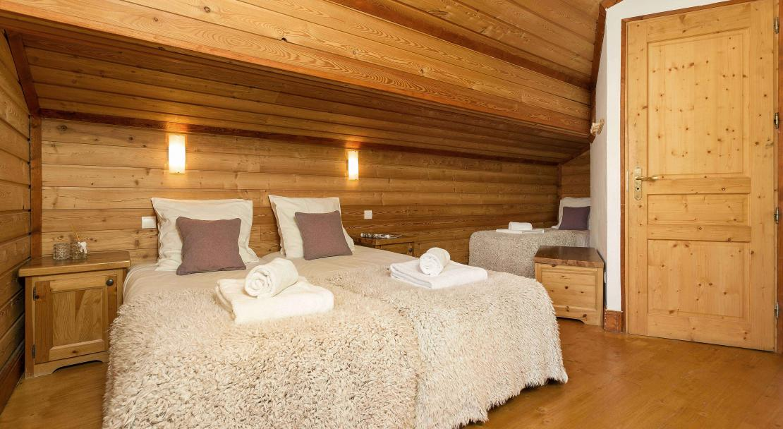 Twin bedroom; Copyright: Madame Vacances