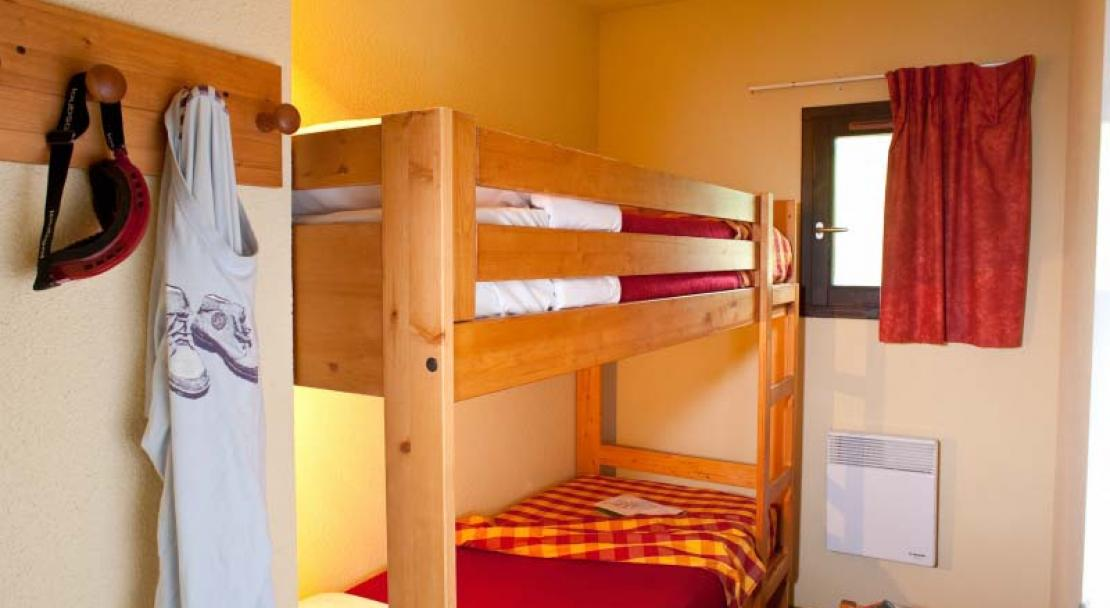 Chalets du Thabor Valfrejus Bunk Beds