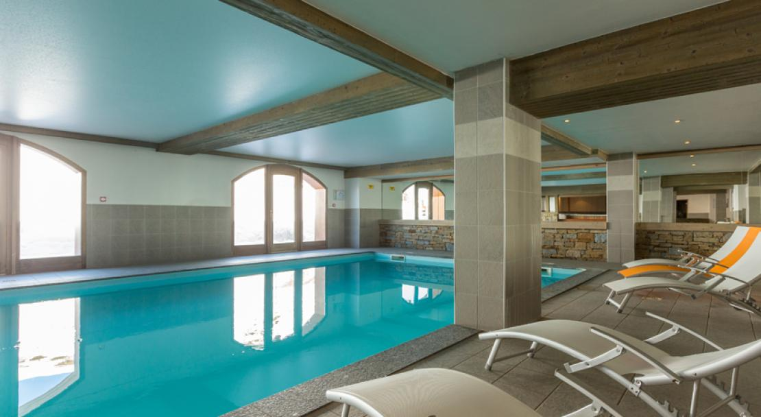Pool at the Sun Valley La Plagne
