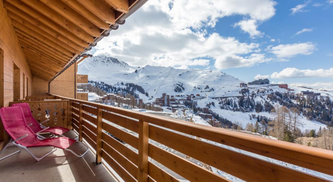 Sun Valley La Plagne Balcony