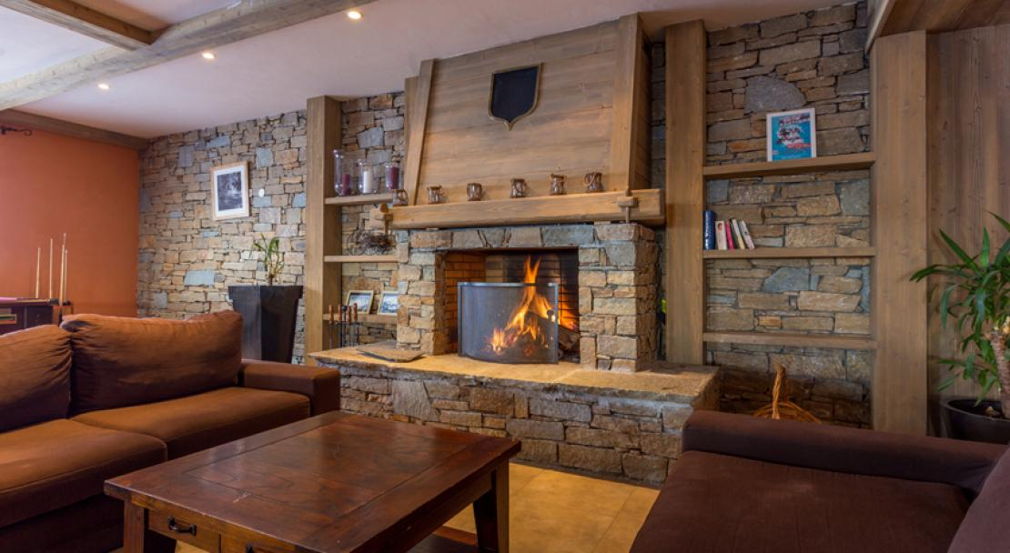 Sun Valley La Plagne Fireplace