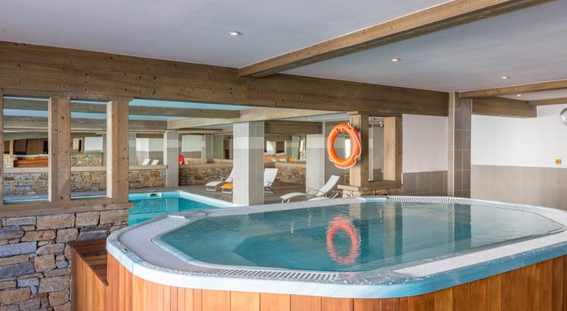 Sun Valley La Plagne Hot tub