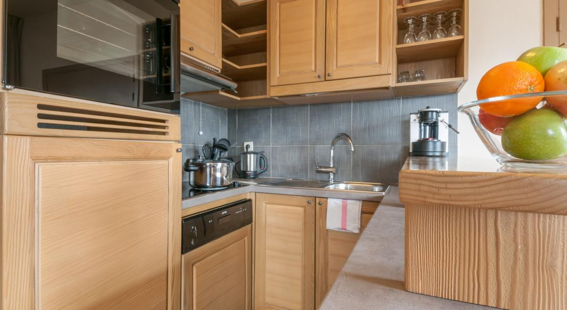 Apartment Kitchen in Les Terasses D'Eos Flaine