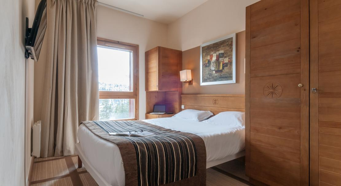 Double Room in Les Terrasses D'Eos Flaine
