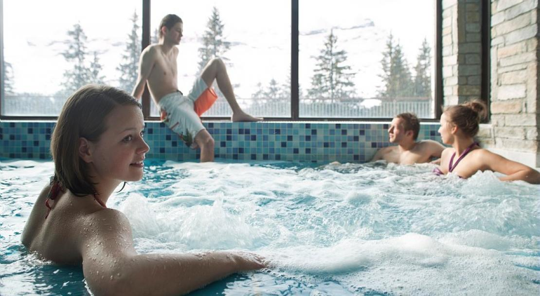 Flaine Montsoleil Hot Tub