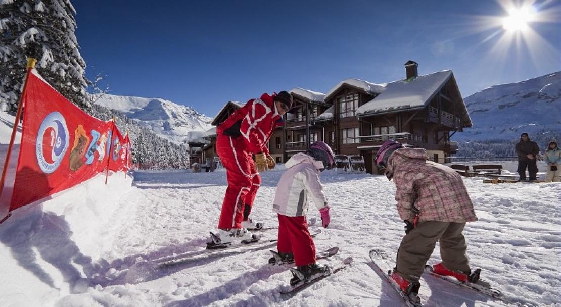 child ski, Flaine, Pierre & Vacances Premium Les Terrasses d'Eos