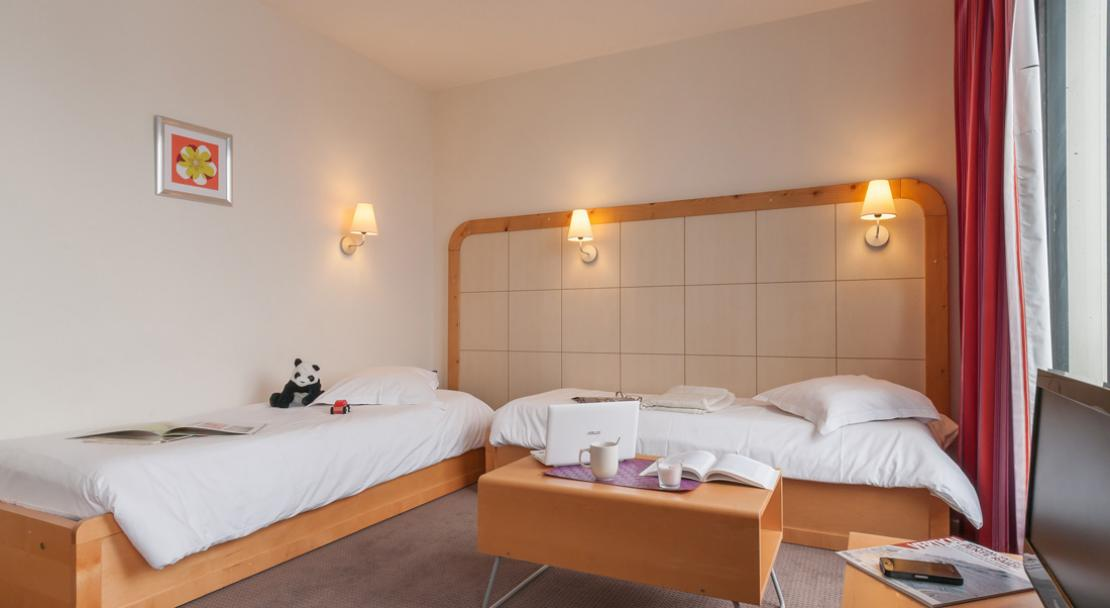 Twin Bedroom - La Foret - Flaine