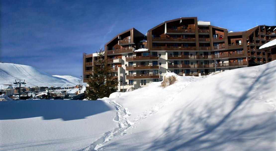 Résidence Le Christiania, Alpe d'Huez, Apartments in snow