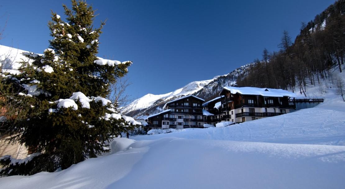 apartment in snow, Résidence Les Hauts du Rogoney, Val D'Isere
