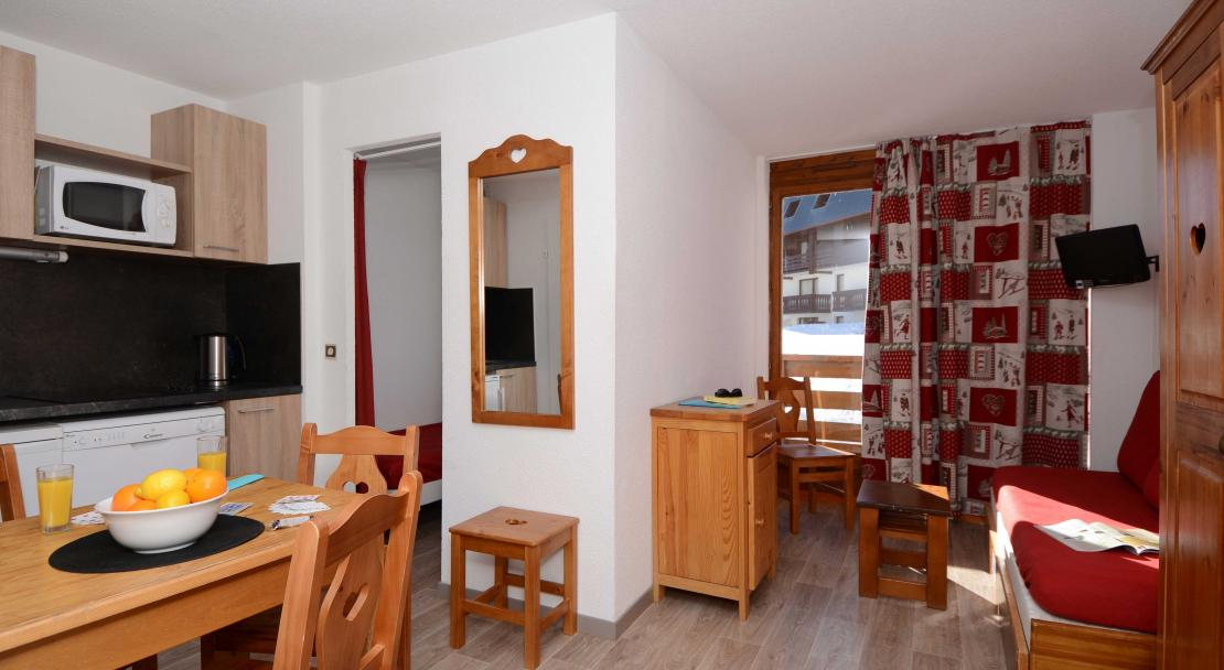 L'Altineige, Val Thorens, Apartment