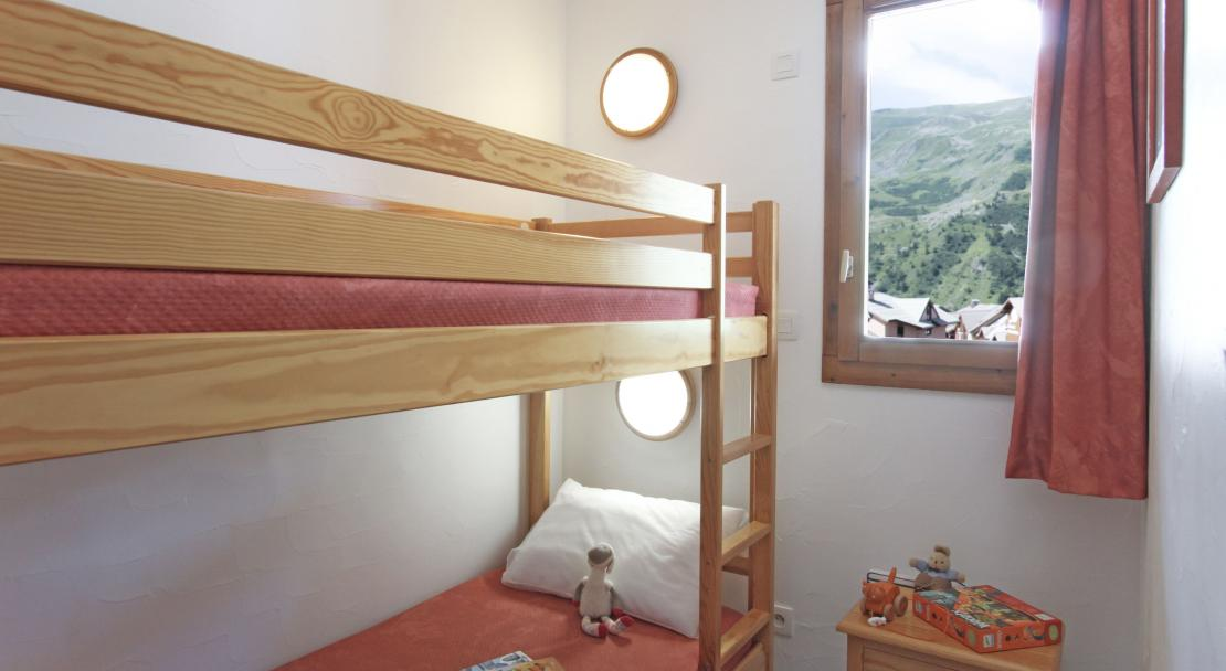 L'Ours Blanc bunkbeds; Copyright: Odalys