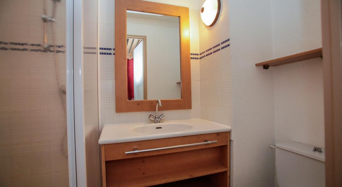 Rond Point des Pistes bathroom; Copyright: Odalys