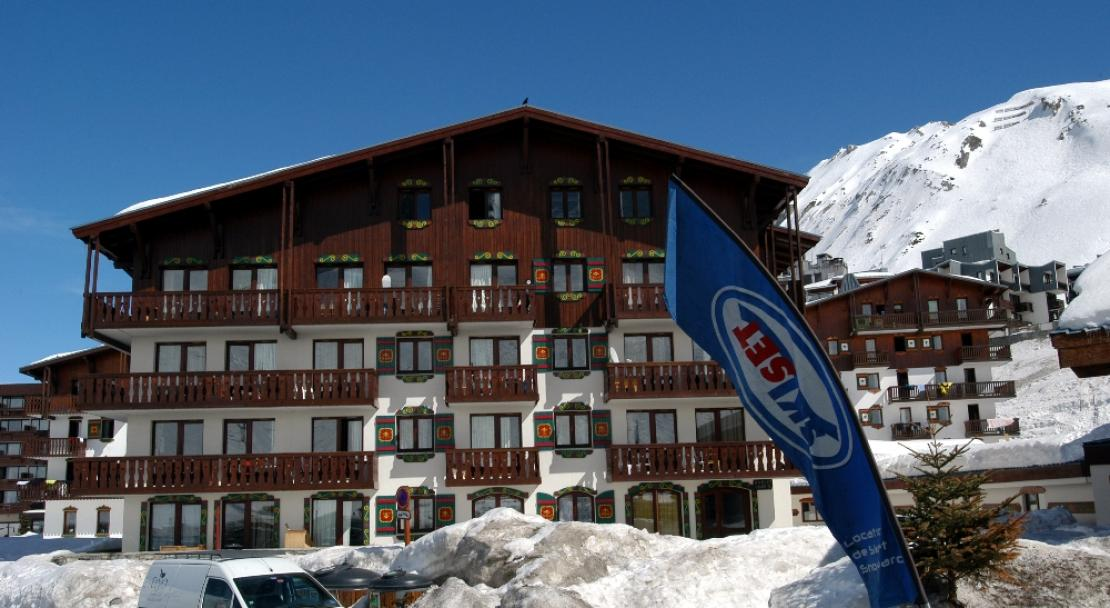 Résidence Val Claret - in the centre of Val Claret, Tignes and right next to the slopes.
