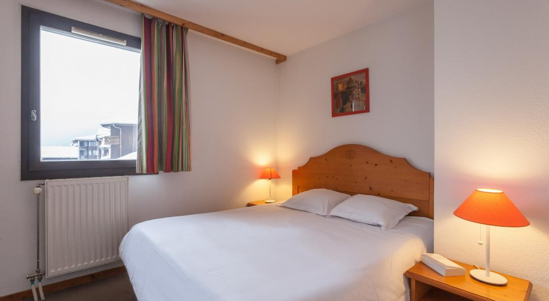Double Bed in La Riviere Chamonix