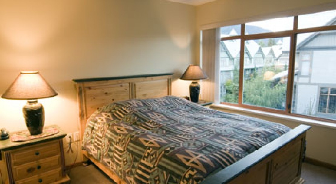 Double bedroom at Stoney Creek Northstar - Whistler