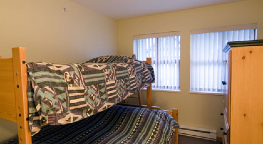 Example bedroom with bunks  - Stoney Creek Northstar - Whistler