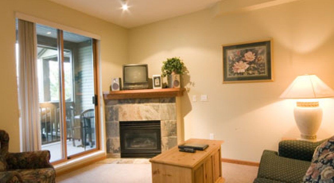 Spacious living area at Stoney Creek Northstar - Whistler