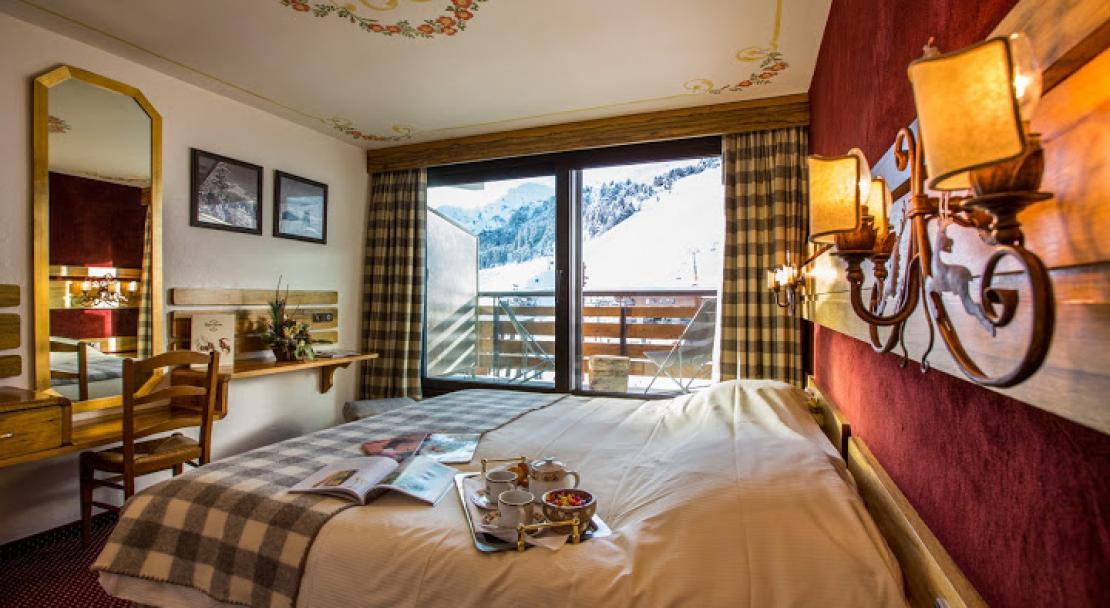 Double Room in Hotel AlpenRuitor Meribel