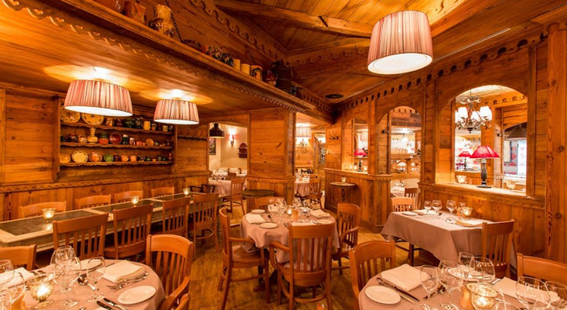 Restaurant in Hotel AlpenRuitor Meribel