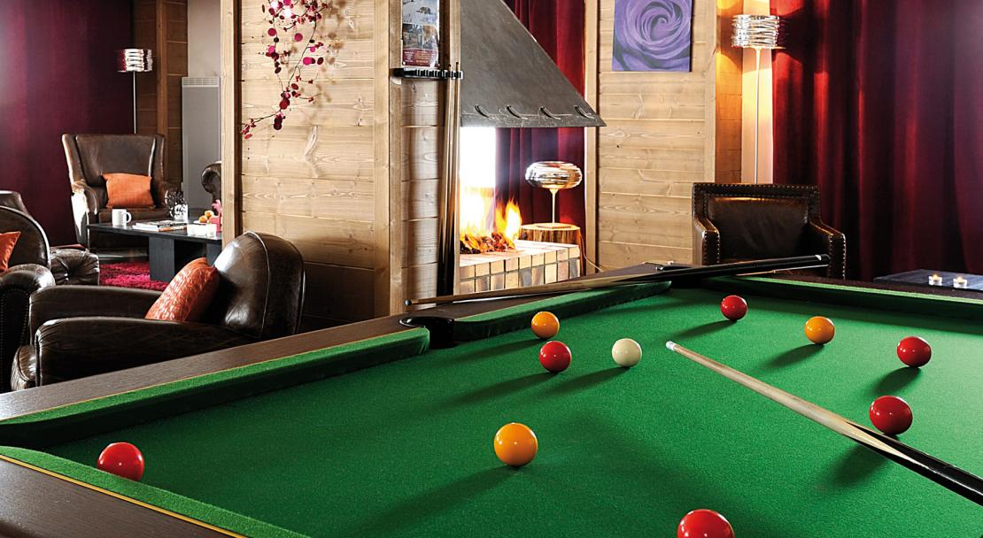 Chalets d'Edelweiss La Plagne Pool table