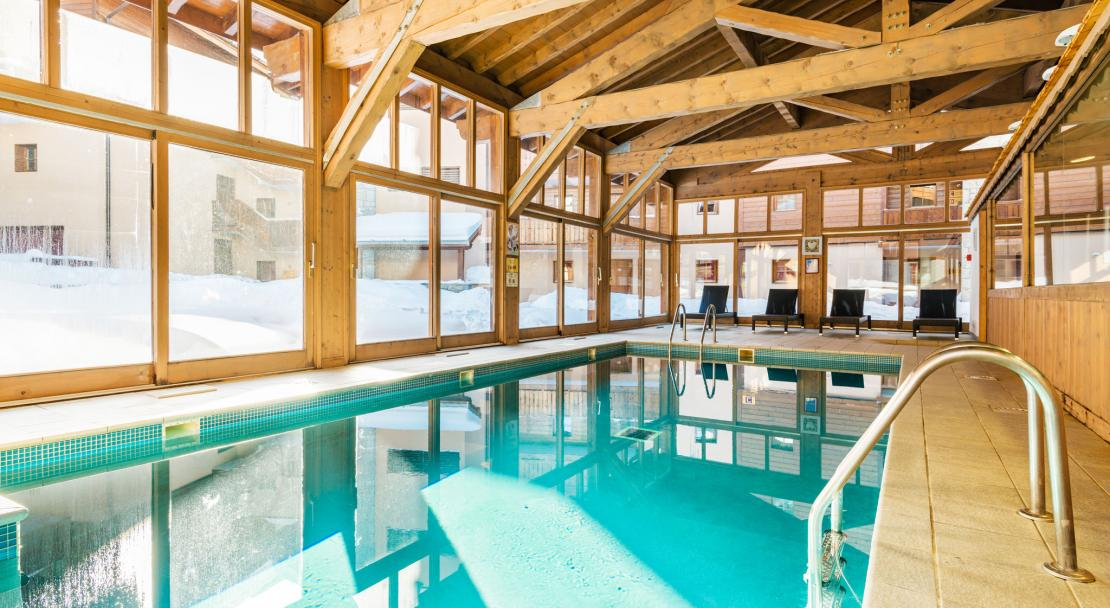 Chalets d'Edelweiss La Plagne Swimming Pool