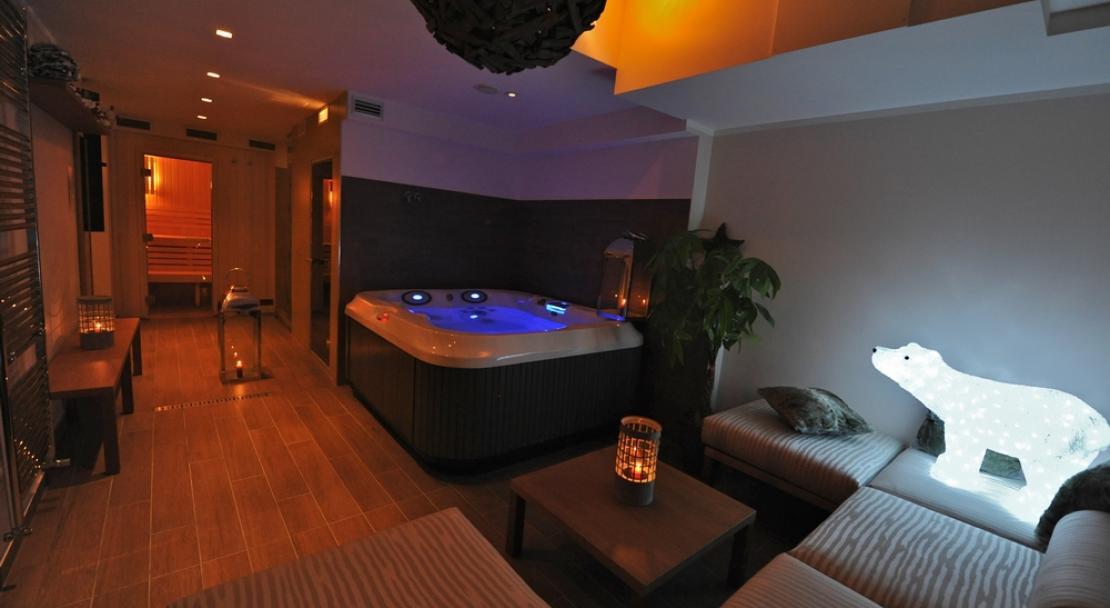 Spa in the Hotel 3 Vallees Val Thorens