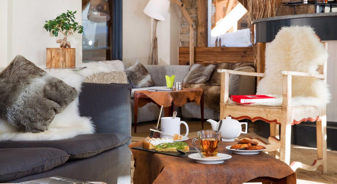 Hotel Les 3 Vallees Val Thorens Lounge