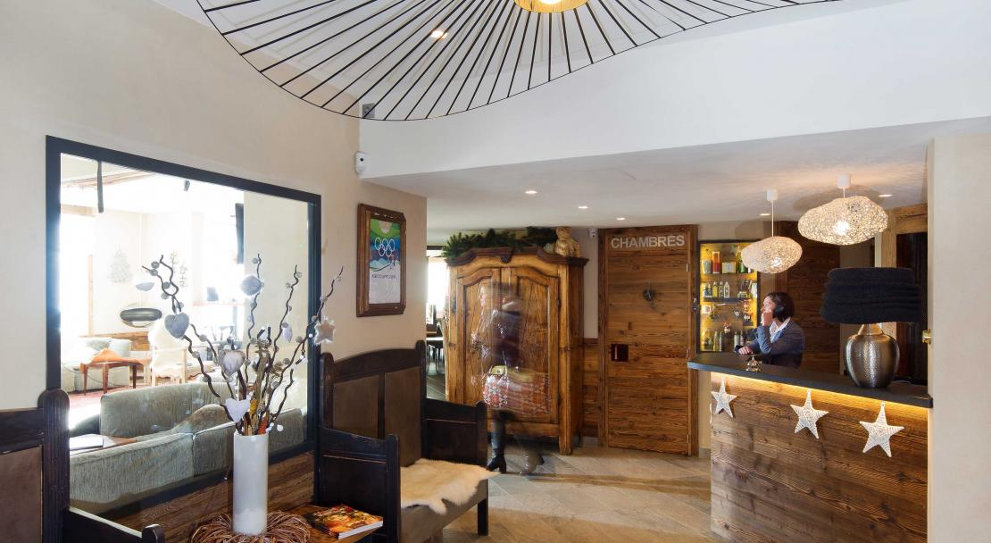 Hotel Les 3 Vallees Val Thorens Reception