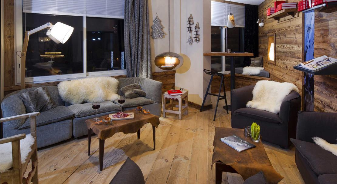 Lounge Hotel Les 3 Vallees Val Thorens