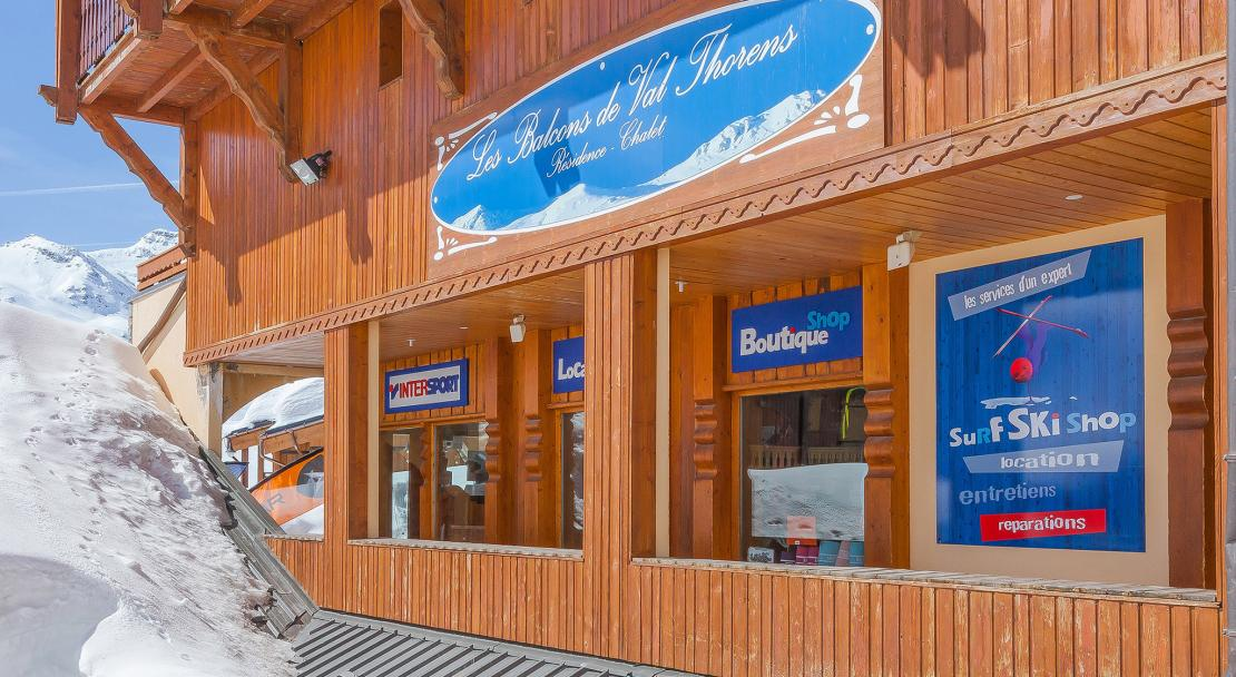 Reception Les Balcons de Val Thorens; Copyright: Les Balcons