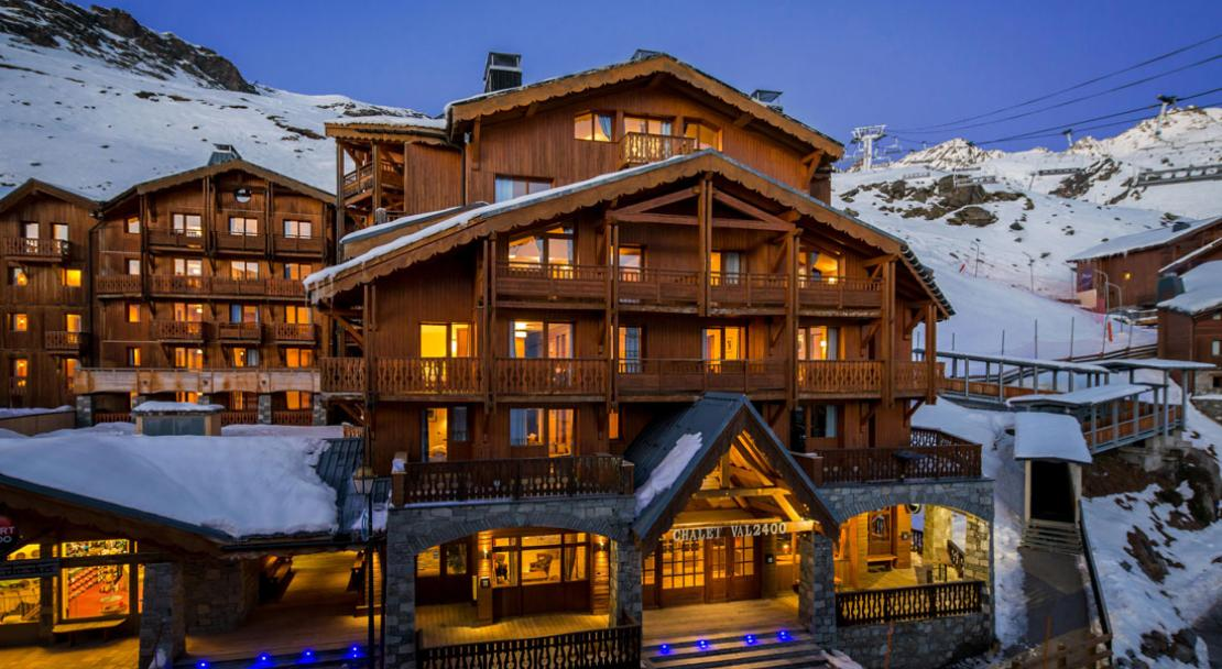 Chalet Val 2400 Val Thorens Exterior 2