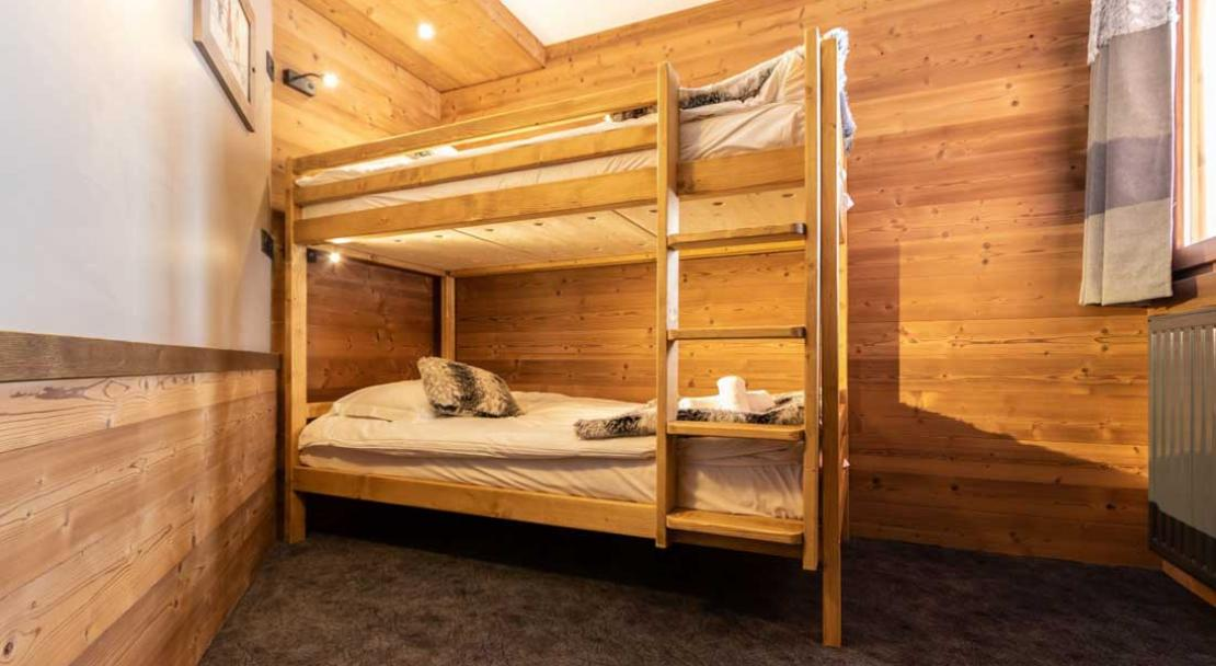 Chalet Altitude bunk room; Copyright: Chalet Altitude, Val Thorens