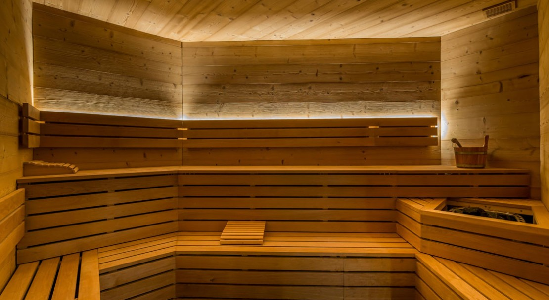 Sauna in Chalet Altitude Val Thorens