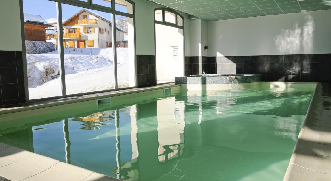 The Swimming Pool at Les Balcons des Aiguilles