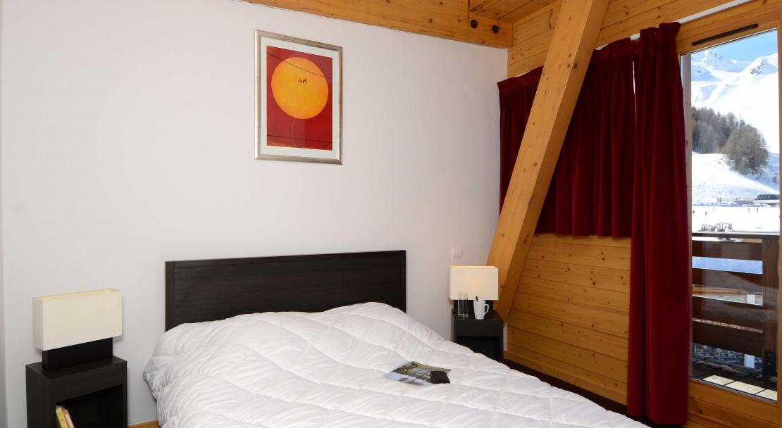 Le Pelvoux, La Plagne, Double Bedroom