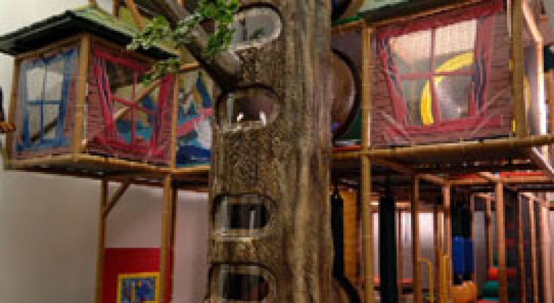 Indoor Play Area - Douglas Fir Resort - Banff
