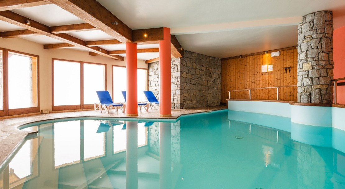 L'Arollaie Peisey Vallandry Swimming pool
