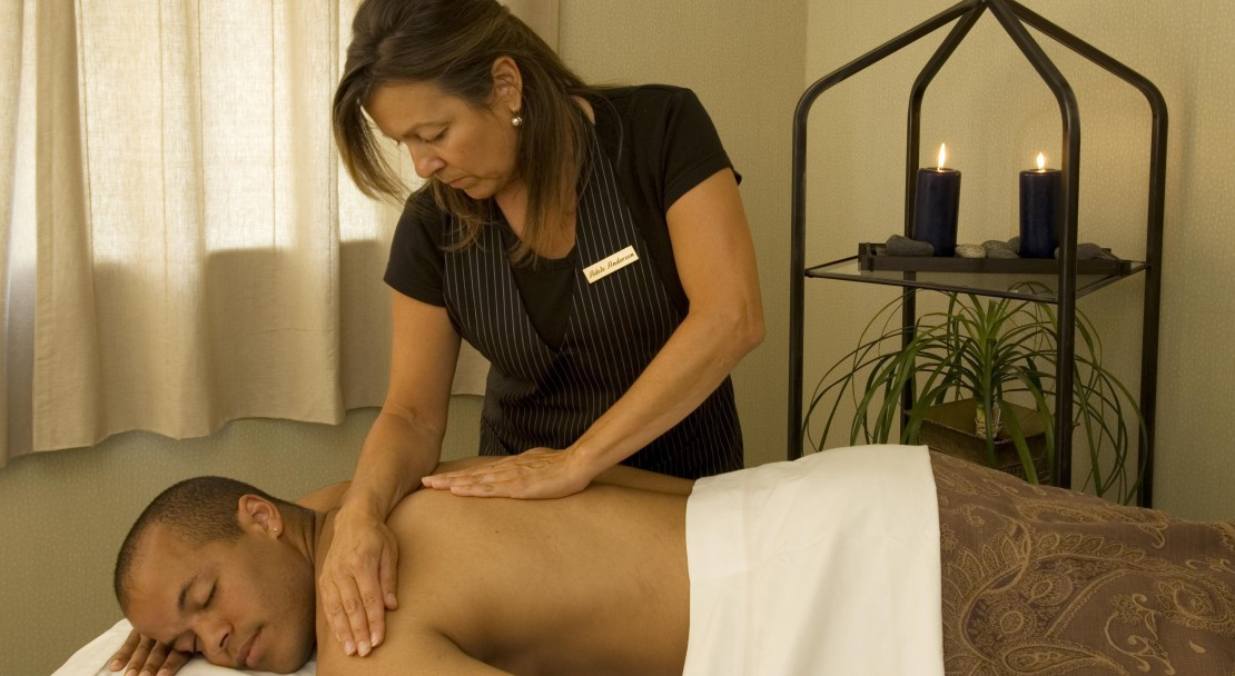 Enjoy a massage at the Hilton Whistler Resort and Spa, Whistler, BC