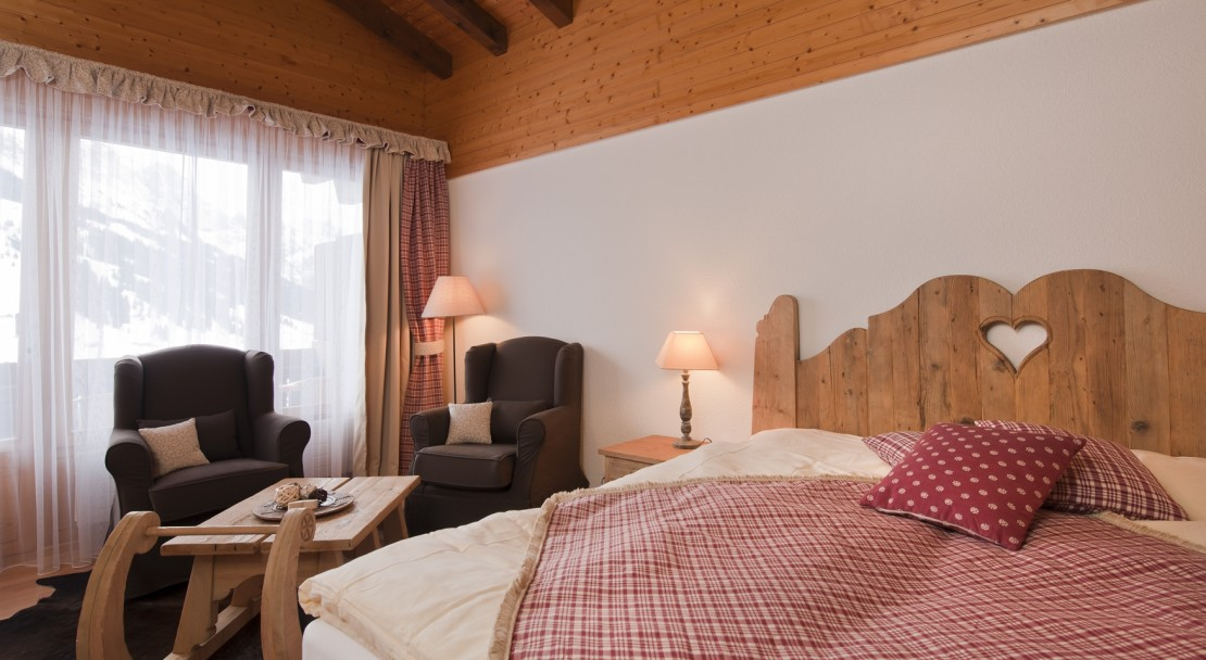 Alpin Charme room in Hotel Beau-Site in Adelboden