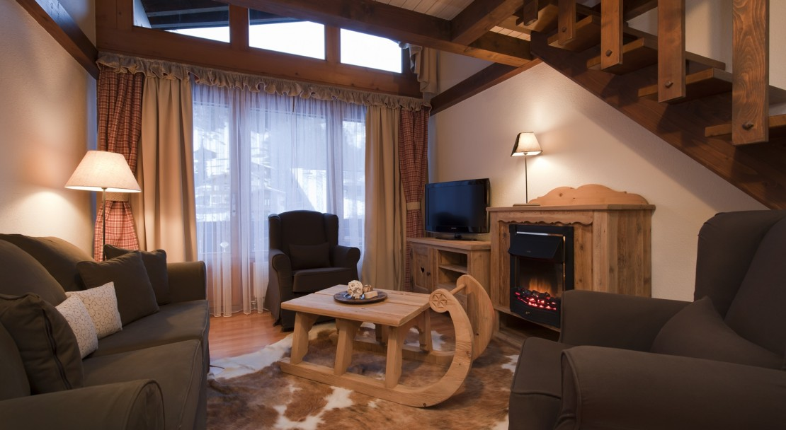 Duplex Apartment at the Hotel Beau-Site in Adelboden