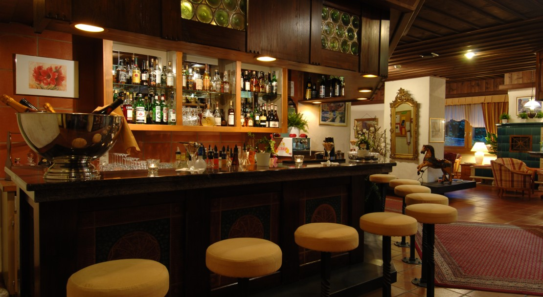 The bar at the Hotel Beau-Site Adelboden