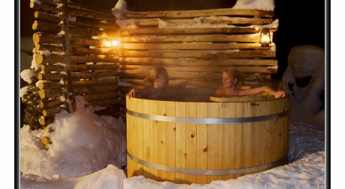 Outdoor Hot Tub at the Hotel Beau-Site in Adelboden
