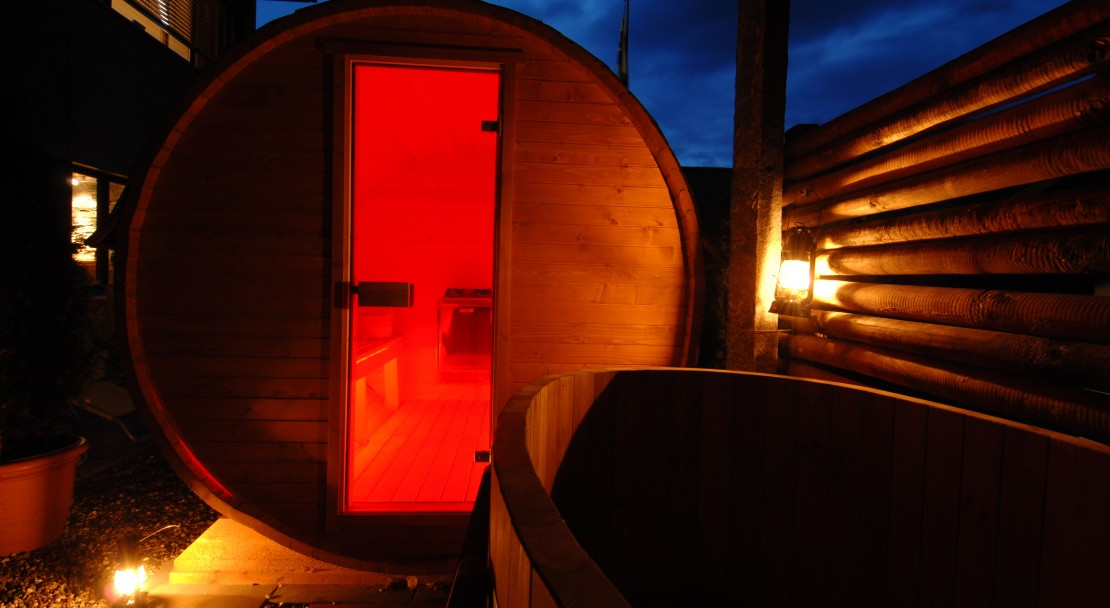 Sauna at the Hotel Beau-Site in Adelboden