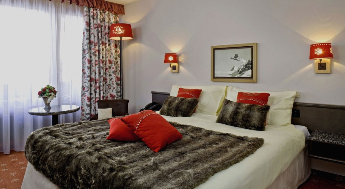 Double Room at the Hotel Beau-Site in Adelboden