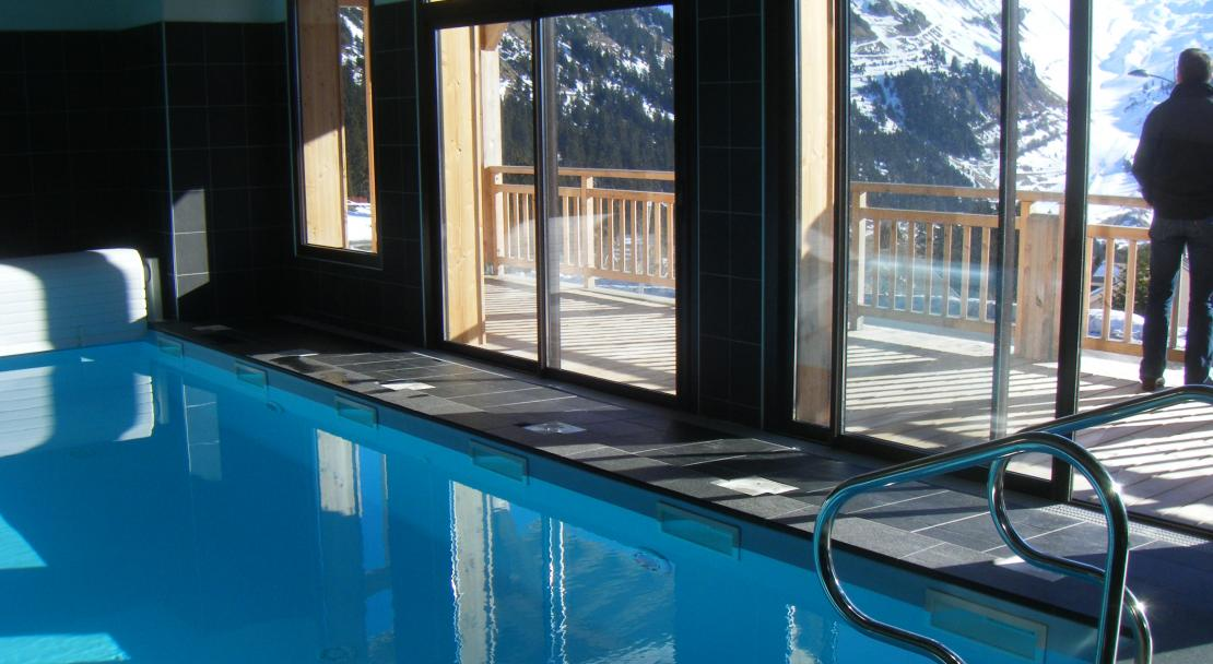 Indoor Pool - Le Refuge Du Golf - Flaine