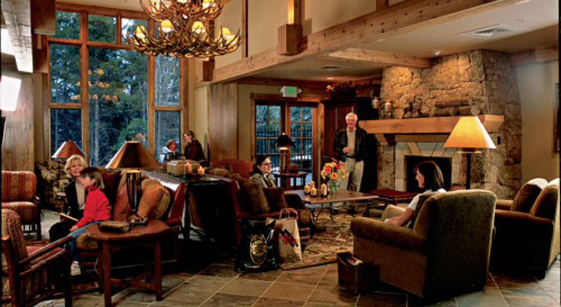 Lobby at the Mountain Thunder Lodge - Breckenridge
